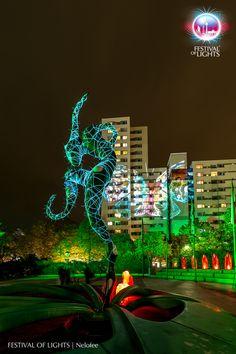 https://flic.kr/p/M8QPpL | Märkisches Viertel @ FESTIVAL OF LIGHTS 2016 | Märkisches Viertel during the Festival of Lights 2016. Different light installations and a visit of the Guardians of Time by Manfred Kielnhofer  #Berlin #FestivalofLights #FoL #GuardiansofTime #Illumination #KiezimLicht #Lichtkunst #Lighting #Lightseeing #Manfred Kielnhofer #Nelofee #Oktober #Sight #Sightseeing #Skulptur #Stadtviertel #VisitBerlin #Zander&Partner #märkischesviertel #Wächter der Zeit #GESOBAUAG