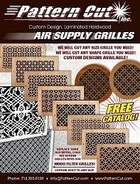 Pattern Cut, Inc. / Empire Ornament Supply, Inc. - (714) 765-8138 - Providing the world with the finest custom made Decorative Lser Cut Wood Vent Grilles, Laser Cut Panels, Decorative Architectural Ornamentation, Decorative Moldings, and Design Details.
