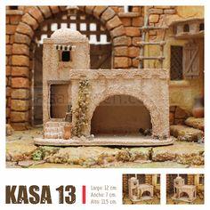 KASAS BELEN Nativity House, Diy Crib, Christmas Crafts, Xmas, City Illustration, English House, Sweet Home, House Design, Villas