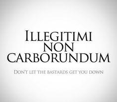 Ideas tattoo quotes latin dont let - Latin Tattoo Illegitimi Non Carborundum, Latin Quote Tattoos, Latin Tattoo, Tattoo Sayings, Lateinisches Tattoo, Words Quotes, Wise Words, Time Quotes, Quotes Quotes