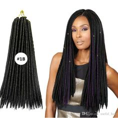 Synthetic Dreads, Synthetic Hair Extensions, Wholesale Hair, Faux Locs, Beauty Women, Braided Hairstyles, Braids, Dreadlocks, Hair Styles