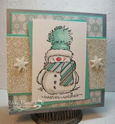 Merry Monday......Warm Wishes Snowman