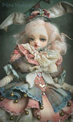 Купить Пэйна - Эвер - смешанная техника, кукла ручной работы, кукла интерьерная, кукла в подарок