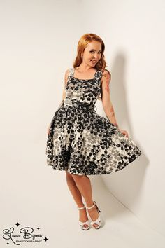 4a3530f161c2 Dolce Vita Dress in Blossom Print (LOVE THIS DRESS) Pinup Girl Clothing