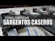Como fabricar Sargentos caseros - Prensas para carpintería y herrería - YouTube