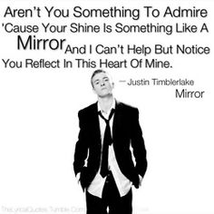 Mirrors -Justin Timberlake. One of my favorite songs. LOVE!!