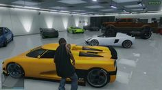 Being able to rearrange cars in GTA Online garages, and store more cars with additional property will make a lot of Grand Theft Auto players happy from this Tuesday. Big Black Car, Black Cars, Rockstar Gta 5, New Car Wallpaper, Vintage Car Bedroom, Cheap Cars For Sale, Gta Cars, Gta San Andreas, Car For Teens