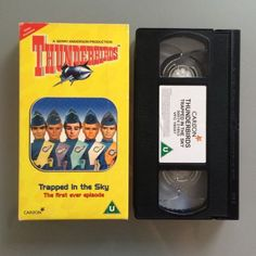 #Thunderbirds - trapped in the sky - vhs video #children's kids #vintage,  View more on the LINK: 	http://www.zeppy.io/product/gb/2/291857545556/