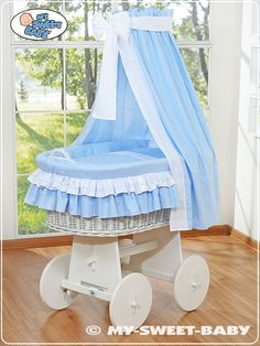 Hand made wicker crib cradle moses basket with drapes Highest quality FEATURES: - Basket size: 100 cm (L) x 70 (W) - cotton with certificate Ökotex AND . Moses Basket, Baby Hands, Bassinet, Baby Shop, Wicker, Duvet Covers, Pillow Cases, Toddler Bed, This Or That Questions