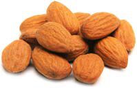 Almonds are high in vitamin e, which I need more of. You need vitamin E because it helps the organs function properly and it helps slow down the process of destroying cells.