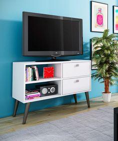Rack Decorativo Hasta Tvs 42' Blanco