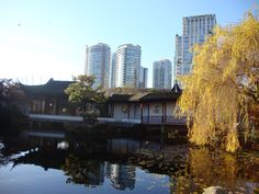 Chinese Garden in Vancouver
