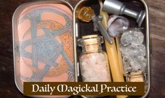 The next Salon is Sat March 11 and we'll be discussing daily magickal practices. We'll talk about daily practice and the quick and dirty spellwork people use in their everyday lives. Come and share your...