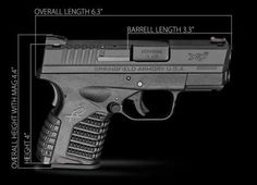 Springfield .45 XDS, ultra-compact