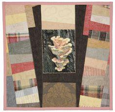 mushroom quilt by Sue Reno