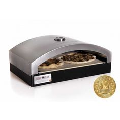 The Camp Chef Artisan Pizza Oven 90 accessory cooks the perfect pizza every time. Designed after the idea of a true, wood fire pizza oven, the Italia Pizza Oven takes your homemade pizza to the next level. A ceramic pizza stone promotes even heat and will give your pizza a delectable crust. Enjoy hot, fresh, flavorful pizzas cooked on your patio, in camp or where ever you take your Camp Chef stove. Great to cook breads, cookies, and pies too.