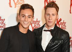British Olympic diver Tom Daley is engaged to marry his boyfriend Dustin Lance Black -- see how they announced their happy news
