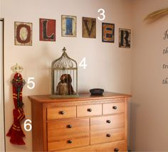 Harry Potter Nursery- possibly over the top, but an original idea