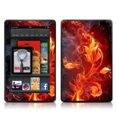 Decalgirl Kindle Fire Skin -   Flower of Fire    Check it out!   http://Techgagets.com /index.php?page=360261