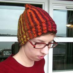 f230ac4f30f Flurry Sideway Short Row Hat Knitting Pattern