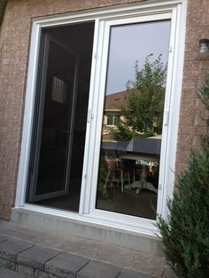 French Patio, French Doors Patio, Patio Doors, Tilt, Patios, Projects,  French Courtyard, Courtyards, Tile Projects