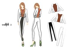 outfit 3 | design by Martina Picotti #fashion #illustration