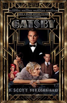 The Great Gatsby This was a pretty awesome movie. Some things were a little abstract, especially the eclectic choice in music, but that was part of what made the movie great. Stunning visual effects, brilliant acting on all sides, and perfectly tragic book-to-movie accuracy.