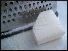 Gingham Apron // Homemade Liquid Laundry Soap (HE friendly)