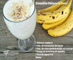 Smoothie De Plátano & Coco