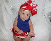 Big 4th of July bow!