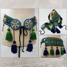 Your place to buy and sell all things handmade Neck Accessories, Dance Accessories, Belly Dance Belt, Tribal Belly Dance, Brocade Fabric, Tribal Fusion, Hammocks, Handmade, Headpiece