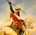 Khawlah bint Al-Azwar - Her family was one of the first to embrace Islam. Her brother Derar was the one who taught her all arts of swordsmanship which later led to her becoming a knight. She was known for her fighting skills and swordsmanship and courage.