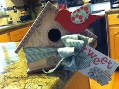 Garden Bird House | Cherished Handmade Treasures