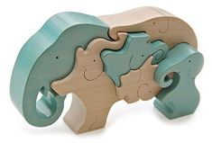 Břichopas about toys: Ginga Kobo Toys Animal Puzzle, Wood Animal, Puzzle Art, Easy Projects, Wood Projects, Wooden Elephant, Eco Friendly Toys, Beginner Woodworking Projects, Scroll Saw Patterns