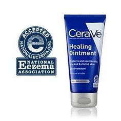 Amazon.com : CeraVe Healing Ointment 5 oz with Hyaluronic Acid and Ceramides for Protecting and Soothing Cracked, Chafed Skin : Beauty