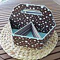CARTONNAGE...ET UN TUTO EN CADEAU - Le Scrap de MC77 et cie. http://mc77etcie.canalblog.com/archives/2012/07/26/24770194.html