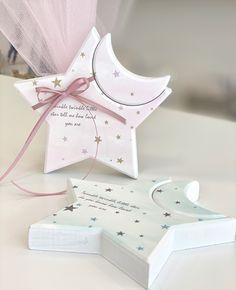 Μπομπονιέρες βάπτισης Αστεράκι ξύλινο σε παστελ αποχρώσεις Twinkle Twinkle Little Star, Container, Gift Wrapping, Stars, Gifts, Gift Wrapping Paper, Presents, Wrapping Gifts, Sterne