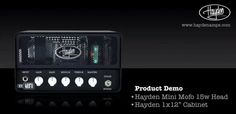 Hayden Mini MoFo Head 15W 'Superior note definition and tone that could give some boutique products a hard time'