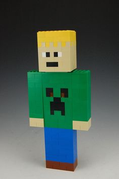 Lego Custom Minecraft Skin by BrickBum