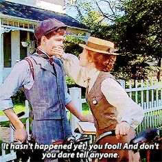 """And she was having none of it, but he just DGAF. 