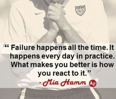 78 Best images about Mia Hamm Quotes on Pinterest | Sport ...  |Mia Hamm Soccer Quotes