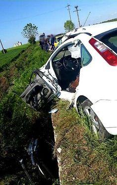 Accident violent în Giurgiu! Un copil de 8 ani a fost rănit!