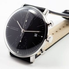 urbnite — Junghans Max Bill Chronoscope