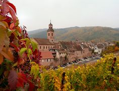 The village of Riquewihr, Alsace | 21 Magical Photos That Will Make You Fall In Love With France