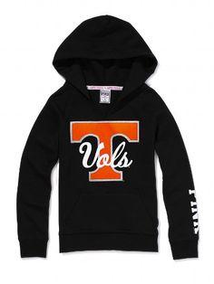 Victoria's Secret PINK University of Tennessee Split Neck Hoodie. SO CUTE!!! Vols!!
