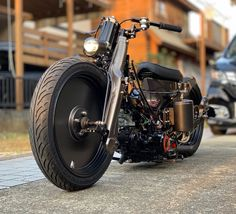 Image may contain: motorcycle and outdoor Custom Motorcycles, Custom Bikes, Cars And Motorcycles, Motorcycle Design, Motorcycle Bike, Mini Bike, Vintage Japanese, Motorbikes, Cubs