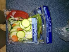 The secret behind most of my weight loss success. Ziploc zip and steam bags. All I do is buy a bunch of veggies, cut them up and stuff a handful inside a bag. Then you put it in the microwave and it steams your veggies for you. You can also cook fish filets and chicken this way too. #paleo