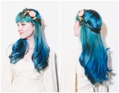 Six ways to style a flower crown