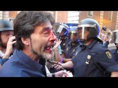 Violencia policial en Ferraz el 13.07.2012 #alacalle #quesejodan #ferraz #genova #congreso