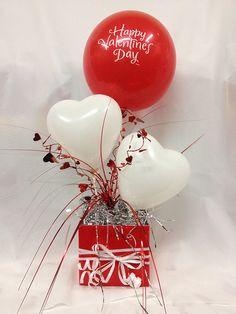 IMG_0431 | Peter Van The Party Man | Flickr Valentines Balloons, Valentines Day Party, Valentines Day Decorations, Birthday Balloons, Valentine Gift Baskets, Valentine's Day Gift Baskets, Valentine Day Gifts, Ballon Arrangement, Valentine Bouquet